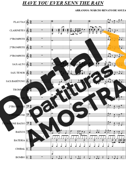 Creedence Clearwater Revival  partitura para Orquestra